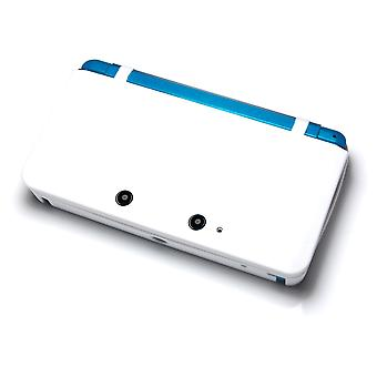 Protective silicone rubber gel cover case skin for nintendo 3ds new - white