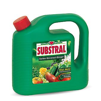 SUBSTRAL® Garden Fertilizer Universal, 4 litres