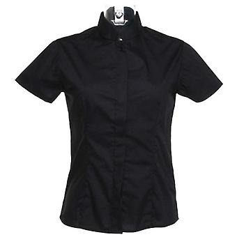Bargear Ladies Short Sleeved Mandarin Collar Bar Shirt