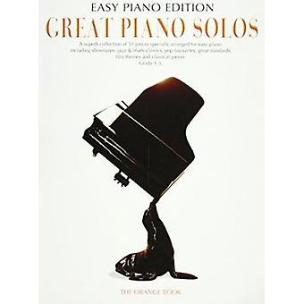 Great Piano Solos - The Orange Book - Easy Piano Edition (Pvg) - 97817