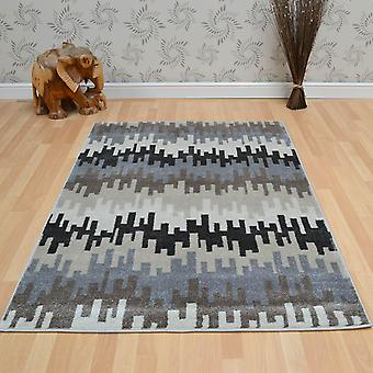 Vogue Rugs Vg28 In Beige And Grey