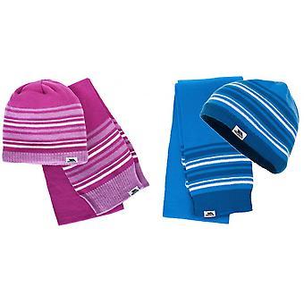 הסגת גבול ילדים/קיפוד החורף כובע וצעיף סט