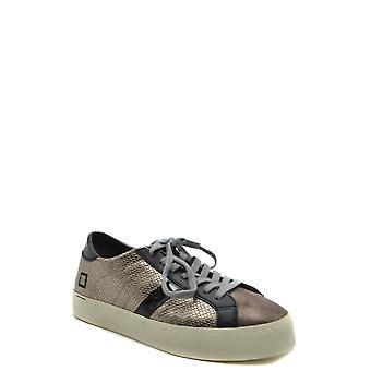 D.a.t.e. Ezbc177027 Women's Brown Leather Sneakers