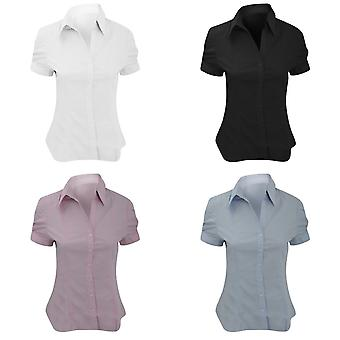 Brook Taverner Ladies/Womens Paduli Short Sleeve Blouse