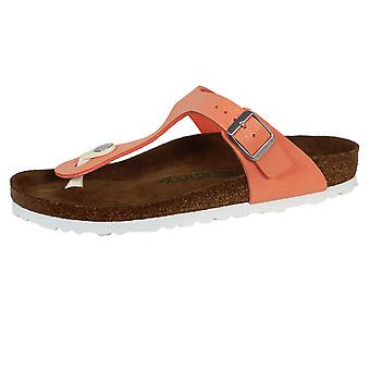 Birkenstock gizeh bs women's brushed flamingo sandals