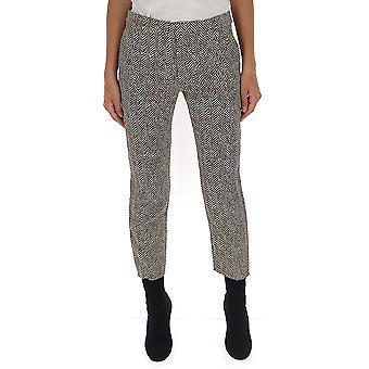 Chloé Chc19apa0333493c Women's Grey Wool Pants