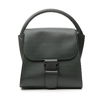 Zucca Zu99ag27110 Women's Green Faux Leather Handbag