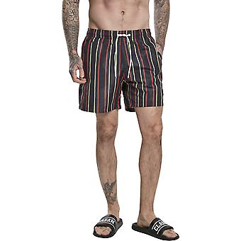Urban Classics - STRIPED Swim Shorts multi marine