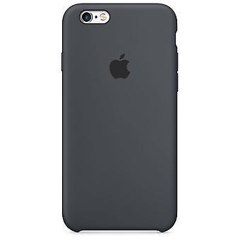 Originalpackat Apple Silikonskyddshölje för iPhone 6 6S antracitgrå