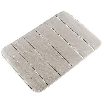 De mat van de badkamer met Het Schuim van het geheugen