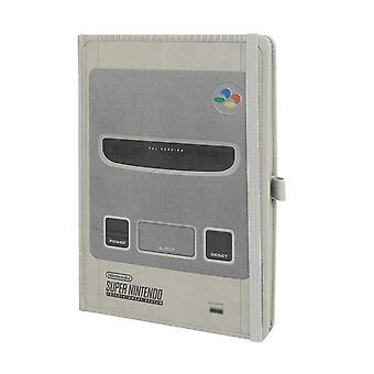 Super Nintendo Notebook