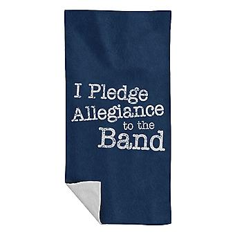 School Of Rock I Pledge Allegiance To The Band Beach Towel