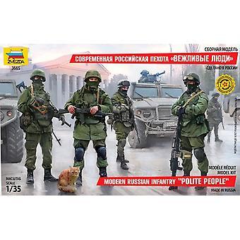 Zvezda Z3665 Infanterie Russe moderne