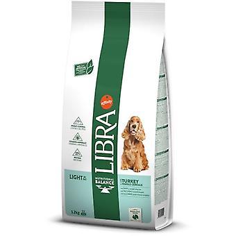 Libra Dog Cibo Secco per Cani Adult Light di Tacchino e Cereali Integrali