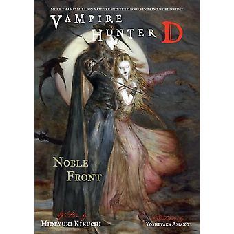 Vampire Hunter D Volume 29 Noble Front by Hideyuki Kikuchi