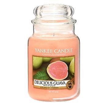 Vela Yankee Classic Grande Jar Deliciosa Vela de Goiaba 623g