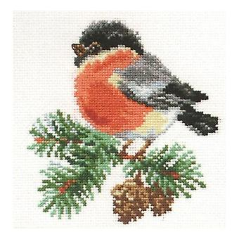 Alisa Cross Stitch Kit - Bullfinch