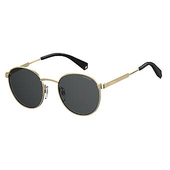 Polaroid PLD2053/S 2F7/M9 Antique Gold-Grey/Polarised Grey Sunglasses