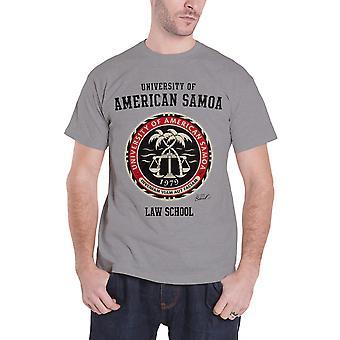 Better Call Saul T Shirt American Samoa Law School new Official Mens Hyper Grey