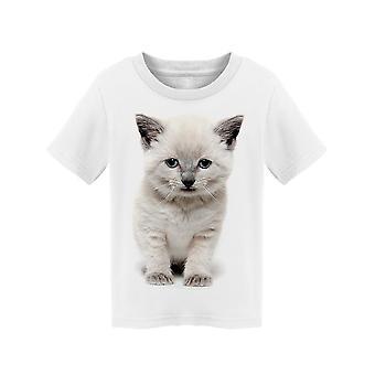 Sad Looking Shorthair Kitten Tee Toddler's -Image by Shutterstock