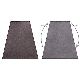Rug wall-to-wall SAN MIGUEL brown 41 plain, flat, one colour