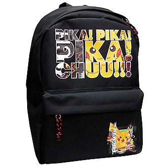 Pokemon Pika! Twit! Pikachu!!! Backpack Bag Satchel 40cm