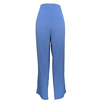 Serengeti Women's Pants Pull-on Elasticized Waistband Blue
