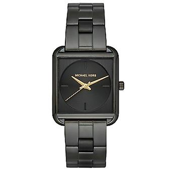 Michael Kors MK3666 Lake Black Three-Hand Ladies Watch
