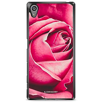Bjornberry Shell Sony Xperia Z5 - Rose rouge