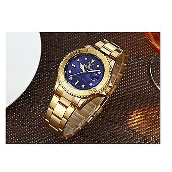Genuine Deerfun Homage Watch Blue Gold Two Tone Smart Watches Direct Sale UK