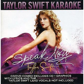 Taylor Swift - Speak Now Karaoke [CD] USA import