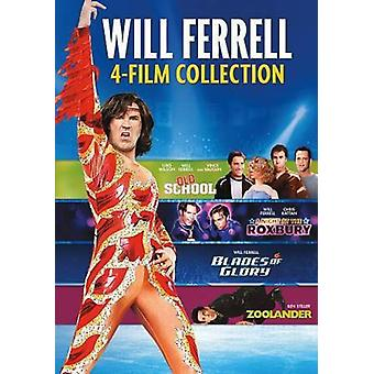 Will Ferrell 4-Film Collection [DVD] USA import