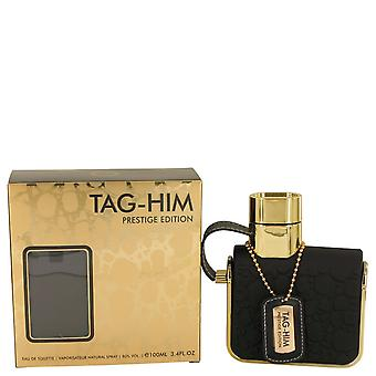 Armaf Tag Him Prestige by Armaf Eau De Toilette Spray 3.4 oz / 100 ml (Men)