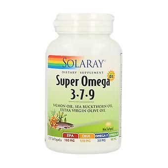 Super Omega 3-7-9 120 capsules