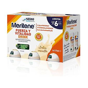 Meritene Vanilla Drink 6 units of 125ml