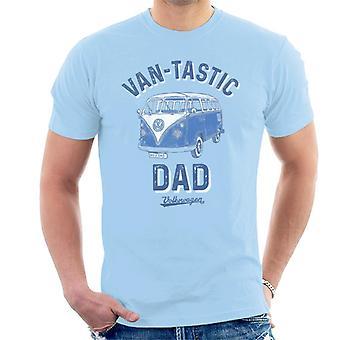 Volkswagen Van Tastic Dad Men's T-Shirt