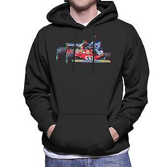 Motorsport Images Niki Lauda 312T2 Mechanic Lift Men-apos;s Sweatshirt à capuchon