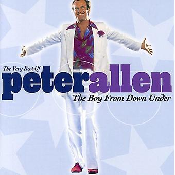 Peter Allen - Boy From Down Under-Very Best of Peter Allen [CD] USA import