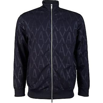 Armani Exchange po celém Logo Track Top