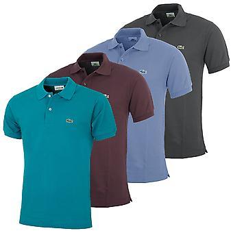 Lacoste mężczyźni Classic Cotton L1212 Koszulka Polo z krótkim rękawem