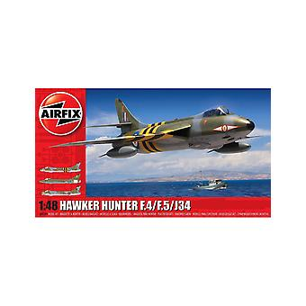 Hawker Hunter F.4/F.5/J.34 Plastic Model Airplane Kit