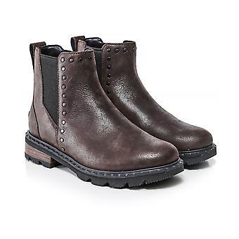 Sorel Lennox Leather Chelsea Stud Boots