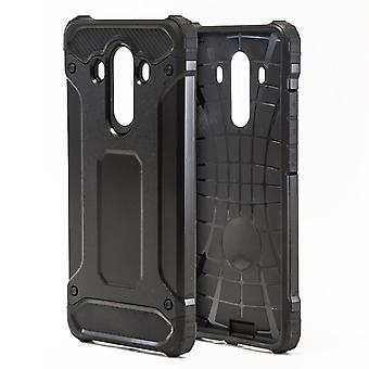 Shell for Huawei Mate 10 Pro - Black Armor Hard Protection Case
