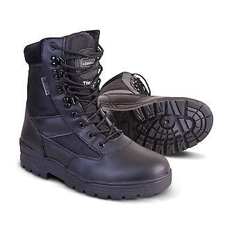 Kombat UK Kombat Patrol Boot Half Leather/half Nylon (black)