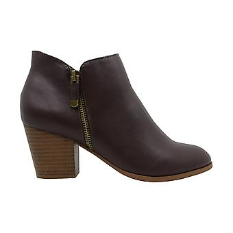 Style & Co. Womens masrinaa Leather Almond Toe Ankle Fashion Boots
