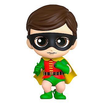Official DC Comics Batman Robin 1966 Cosbaby 11cm Hot Toys Figure