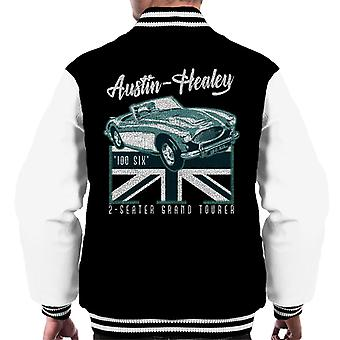 Austin Healey 2 Seater Grand Tourer British Motor Heritage Men's Varsity Jacket
