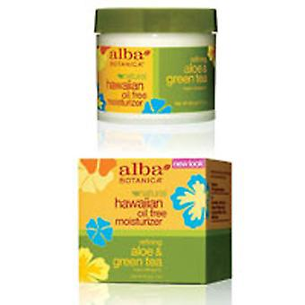 Alba Botanica Hawaiian Aloe & Green Tea Oil-Free Moisturizer, 3 oz