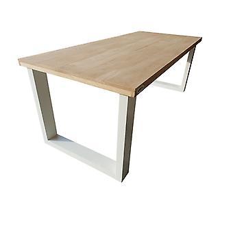 Wood4you - Eettafel New England Eikenhout 200Lx78Hx100D cm