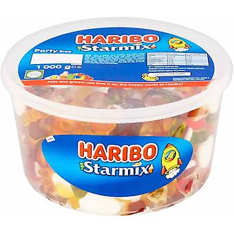 Haribo Starmix Party Size Drum 1kg
